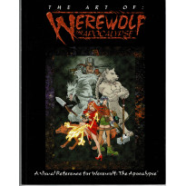 The Art of Werewolf The Apocalypse (artbook jdr Loup-Garou L'Apocalypse en VO)