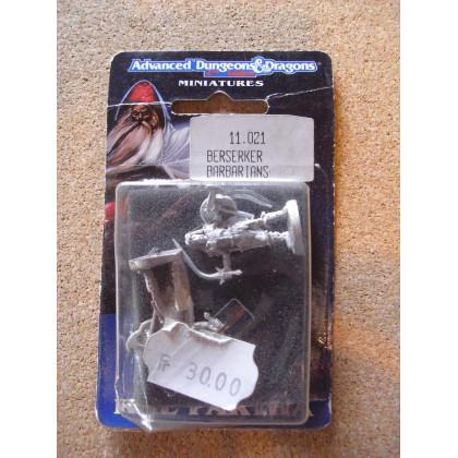 Berserker Barbarians (blister figurines AD&D Miniatures de Ral Partha) 001