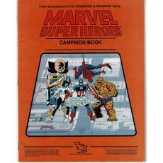 Marvel Super Heroes - Campaign Book (jdr TSR en VO)