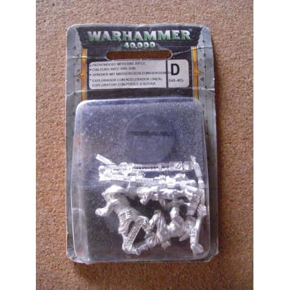 Cibleurs Tau avec Railgun (blister de figurines Warhammer 40,000) 001