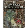 Rolemaster Companion III (jdr Rolemaster en VO) 003