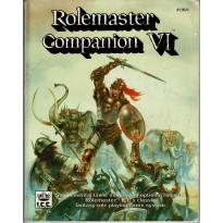 Rolemaster Companion VI (jdr Rolemaster en VO)
