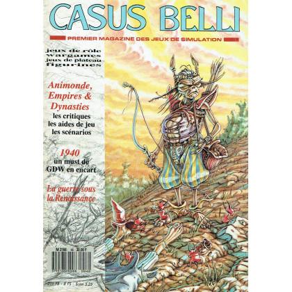 Casus Belli N° 46 (premier magazine des jeux de simulation) 005