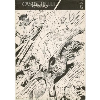 Casus Belli N° 57 - Encart de scénarios (premier magazine des jeux de simulation) 001