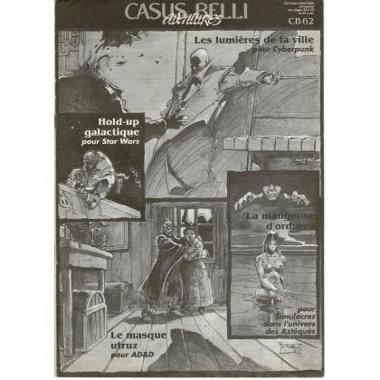 Casus Belli N° 62 - Encart de scénarios (premier magazine des jeux de simulation) 001