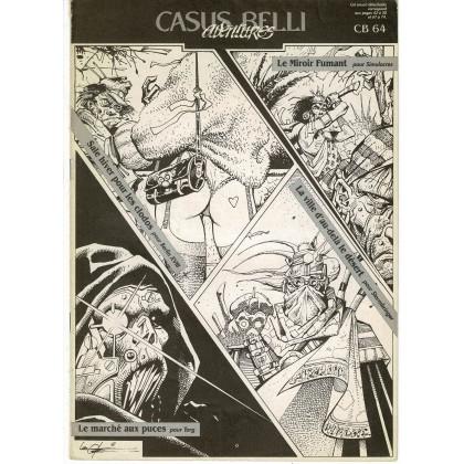 Casus Belli N° 64 - Encart de scénarios (premier magazine des jeux de simulation) 001
