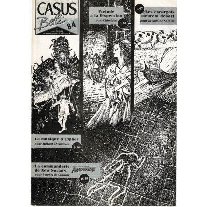 Casus Belli N° 84 - Encart de scénarios (magazine de jeux de rôle) 001