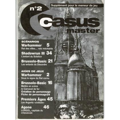 Casus Belli N° 2 - Encart de scénarios (magazine de jeux de rôle 2e édition) 001