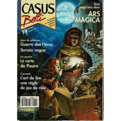 Casus Belli N° 79 (Magazine de jeux de rôle) 009