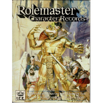 Rolemaster Character Records (jdr Rolemaster en VO)