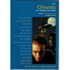 Orlando - Le temps du twist (livre de jeu de rôle complet - Gallimard en VF)