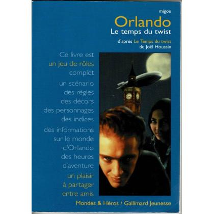 Orlando - Le temps du twist (livre de jeu de rôle complet - Gallimard en VF) 001
