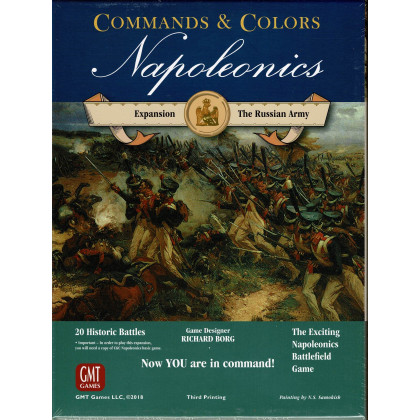 Commands & Colors Napoleonics - The Russian Army (wargame GMT en VO) 001