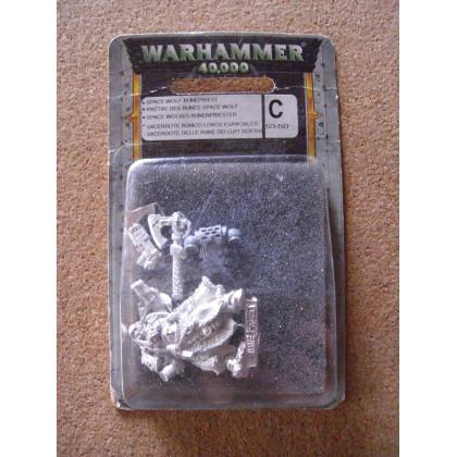 Prêtre des Runes Space Wolf (blister de figurine Warhammer 40,000) 001