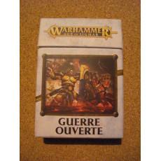 Guerre Ouverte - Paquet de cartes (jeu figurines Warhammer Age of Sigmar en VF)