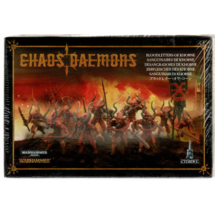 Sanguinaires de Khorne - Chaos Daemons (figurines Warhammer et Warhammer 40,000) 001