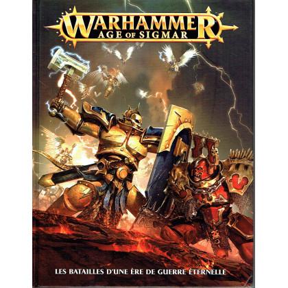 WARHAMMER AGE OF SIGMAR - Livre de règles (jeu de figurines de Games Workshop en VF) 001