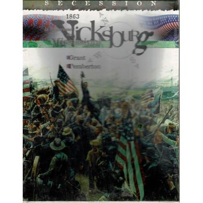 Vicksburg 1863 - La Forteresse du Mississippi (wargame Tilsit en VF) 001