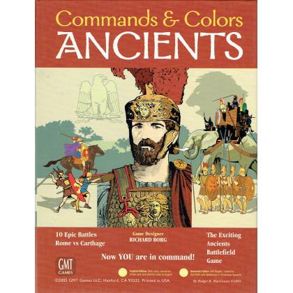 Commands & Colors - Ancients (wargame 6th Printing de GMT en VO) 003