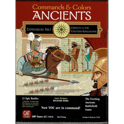 Commands & Colors Ancients - Expansion Nr. 1 (wargame 3rd Printing de GMT en VO) 002