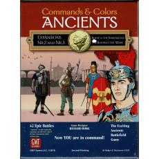 Commands & Colors Ancients - Expansions Nr. 2 & 3 (wargame 2nd Printing de GMT en VO)