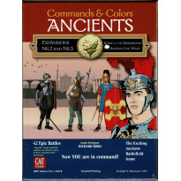 Commands & Colors Ancients - Expansions Nr. 2 & 3 (wargame 2nd Printing de GMT en VO)