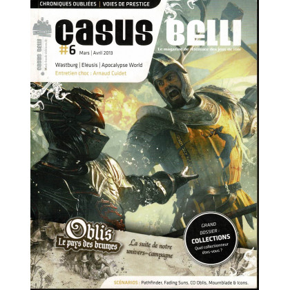 Casus Belli N° 6 (magazine de jeux de rôle - Editions BBE) 007