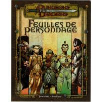 Feuilles de Personnage (jdr Dungeons & Dragons 3.0 en VF) 005