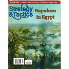 Strategy & Tactics N° 249 - Napoleon in Egypt (magazine de wargames & jeux de simulation en VO)
