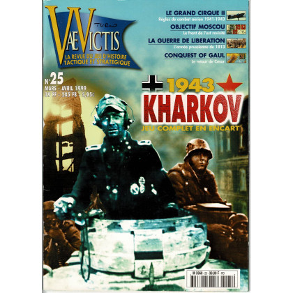Vae Victis N° 25 (La revue du Jeu d'Histoire tactique et stratégique) 002