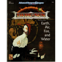 DSS2 Earth, Air, Fire, and Water (jdr Dark Sun - AD&D 2nd édition en VO)