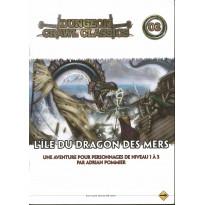 Dungeon Crawl Classics 03 - L'île du Dragon des Mers (jdr D&D 4 en VF)