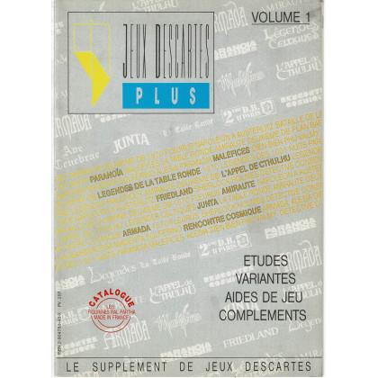 Jeux Descartes Plus Volume 1 (revue de jeux de rôles et de stratégie) 002