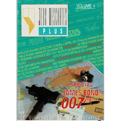 Jeux Descartes Plus Volume 4 - Spécial James Bond 007 (magazine Jeux Descartes en VF) 004
