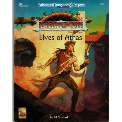 DSS3 Elves of Athas (jdr Dark Sun - AD&D 2nd édition en VO) 001