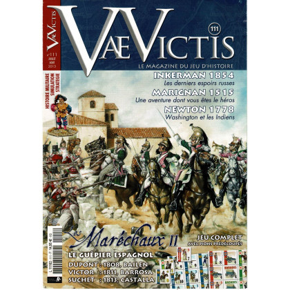 Vae Victis N° 111 - Version avec wargame seul (Le Magazine du Jeu d'Histoire) 001