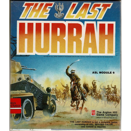 The Last Hurrah - ASL Module 6 (wargame Advanced Squad Leader en VO) 003