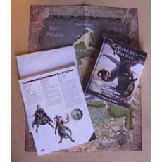 Invincible - Les Sept Vies du Dragon + accessoires souscription (jdr Chroniques Oubliées Fantasy en VF)