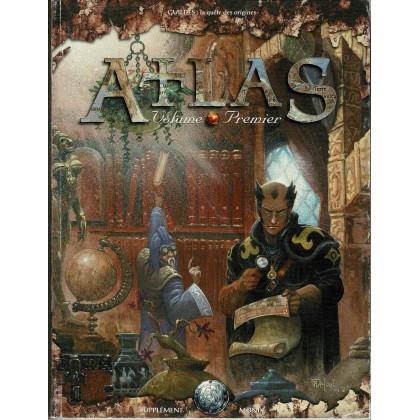 Atlas - Volume Premier (jdr Guildes La Quête des Origines en VF) 001