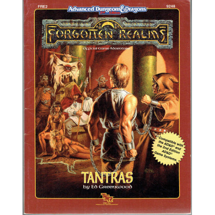 FRE2 Tantras (jdr AD&D 2nd édition - Forgotten Realms en VO) 001