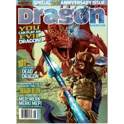 Dragon Magazine N° 332 (magazine de jeux de rôle en VO) 001