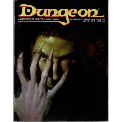 Dungeon N° 50 (magazine de jeux de rôle TSR en VO) 001
