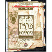 Return to the Tomb of Horrors - Tomes Adventure (boîte jdr AD&D 2 révisée en VO)
