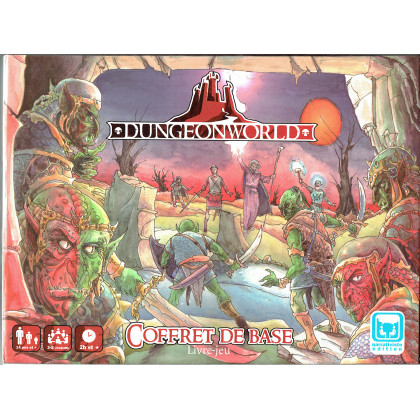 Dungeon World - Coffret de base (jdr Livre-jeu de Narrativiste Edition en VF) 001
