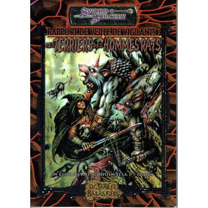 Les Terres Balafrées - Les Terriers des Hommes Rats (jdr Sword & Sorcery en VF) 009