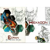 Hexagon Universe - Ecran du Meneur de Jeu & livret (jdr XII Singes en VF) 002