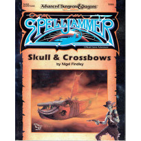 SJA2 Skull & Crossbows (jdr Spelljammer AD&D 2e édition en VO)