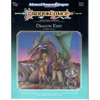DLE3 Dragon Keep (jdr Dragonlance - AD&D 2e édition en VO)