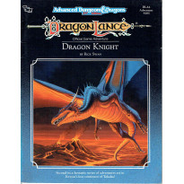 DLA2 Dragon Knight (jdr Dragonlance - AD&D 2e édition en VO)