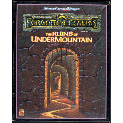 The Ruins of Undermountain - Boxed Set (jdr Forgotten Realms - AD&D 2e édition en VO) 001